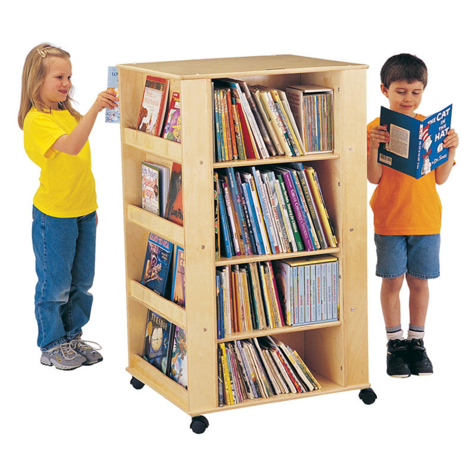 Jonti-Craft Kydz Media Tower Bookcase