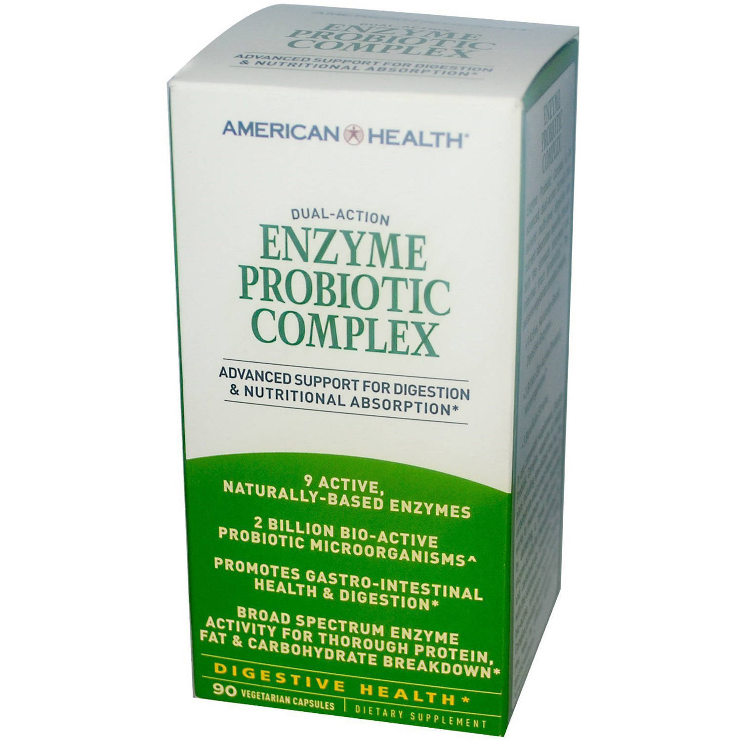 American Health Enzyme Probiotic Complex, 90 CT