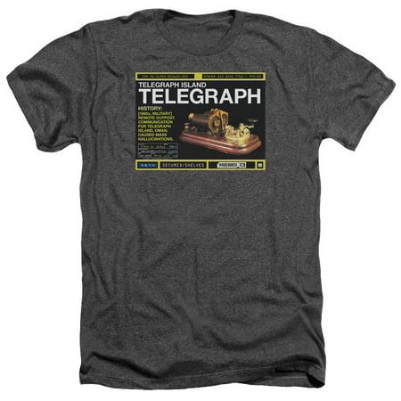 Warehouse 13 Telegraph Island Mens Heather Shirt