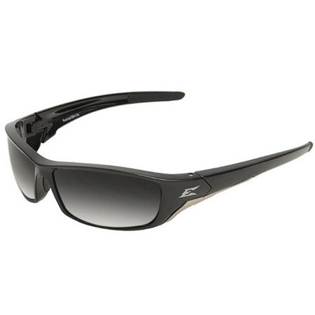 Gradiant Lens - Edge Eyewear Reclus Black Frame Polarized Sunglasses with Gradient Lens