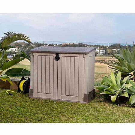 Keter Store-It-Out Midi 30-Cu Ft Resin Storage Shed, All