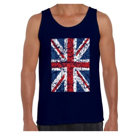 Awkward Styles British Flag Tanks for Men Britain Lovers Tank Top for Him New England T Shirt for Boyfriend Patriotic United Kingdom Flag T Shirt for Men Birthday Gifts for