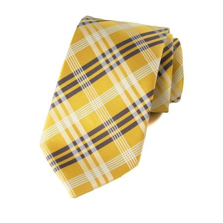 Spring Notion Men's Plaid Woven (Plaid Woven Tie)
