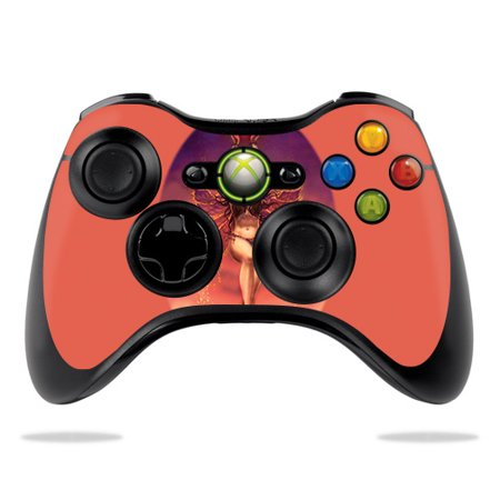 Magic Ski System - Skin For Microsoft Xbox 360 Controller - Fiery Magic | MightySkins Protective, Durable, and Unique Vinyl Decal wrap cover | Easy To Apply, Remove, and Change Styles