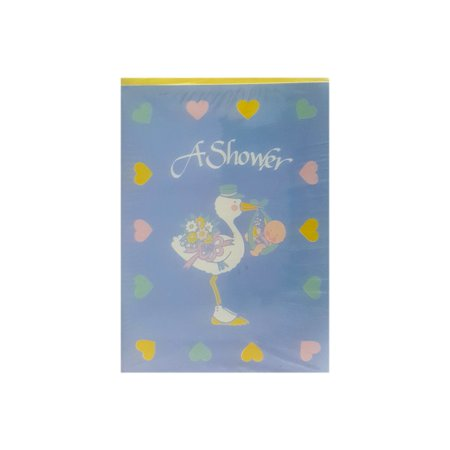 Carlton Cards Baby Shower Invitations Stork Baby Hearts w/ Envelopes (Carlton Cards)