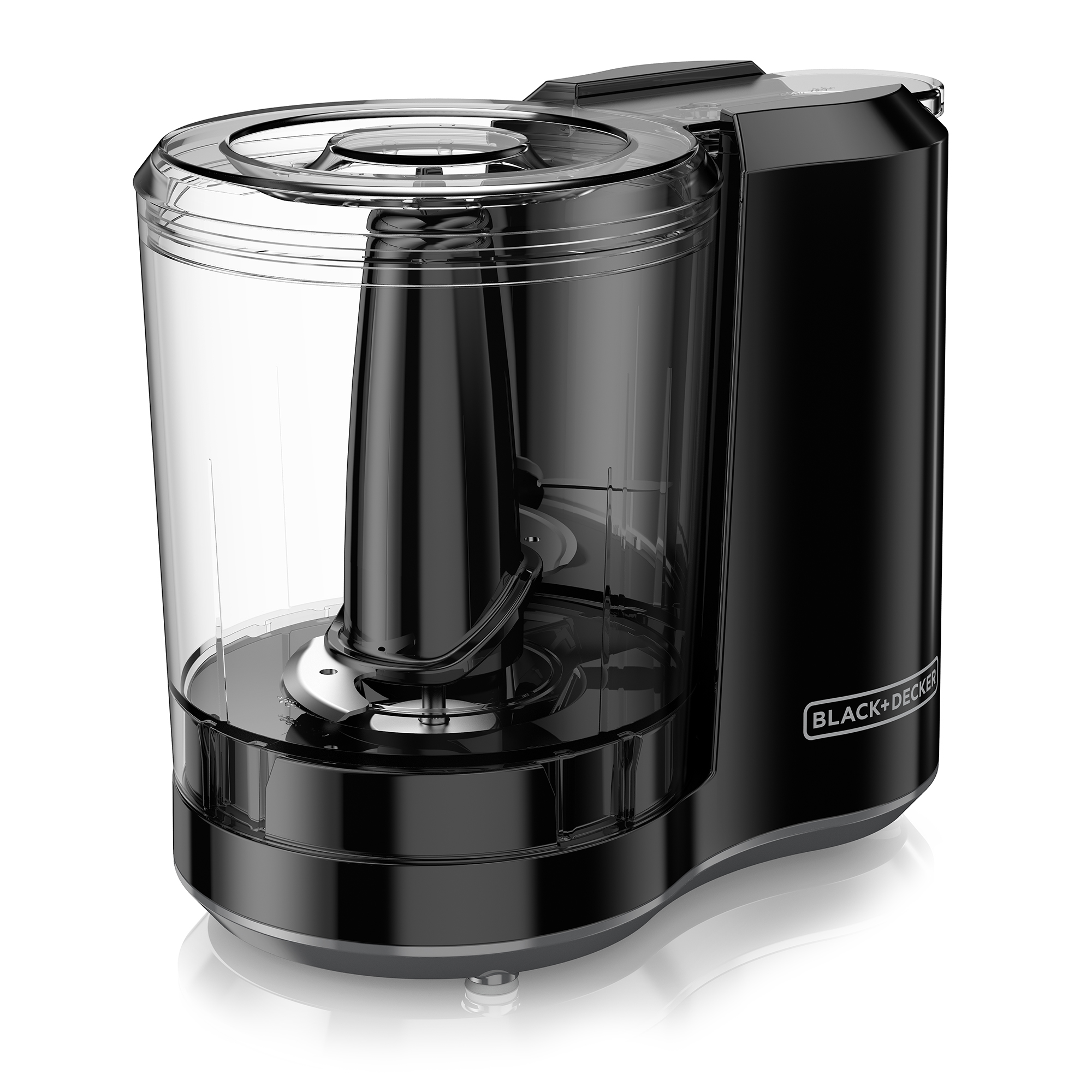 BLACK+DECKER FreshPrep 3-Cup Electric Food Chopper, Black, HC300B