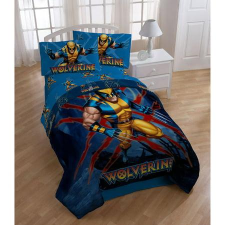 Wolverine Twin Bed Set