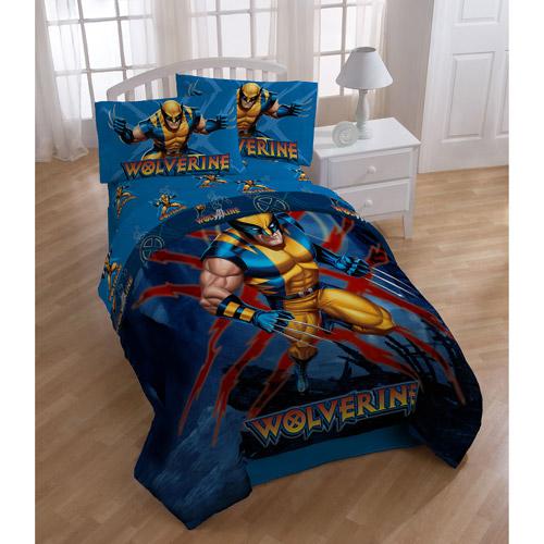 Marvel X-Men Wolverine Bedding Comforter, Twin