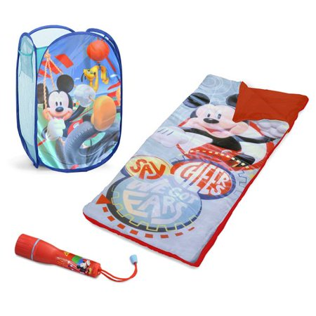 Disney Mickey Mouse Sleepover Set With Bonus Hamper
