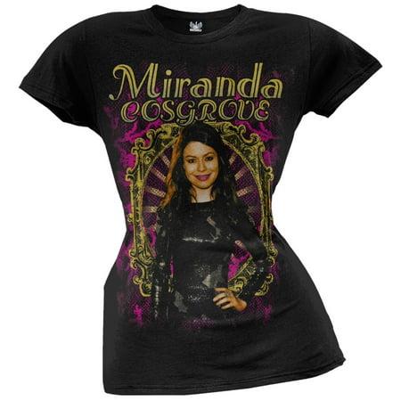 Miranda Cosgrove - Mirror Juniors T-Shirt - Miranda Shirt