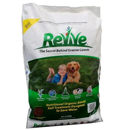 Release Granules - Revive Granules Organic Soil Treatment, 25 lbs