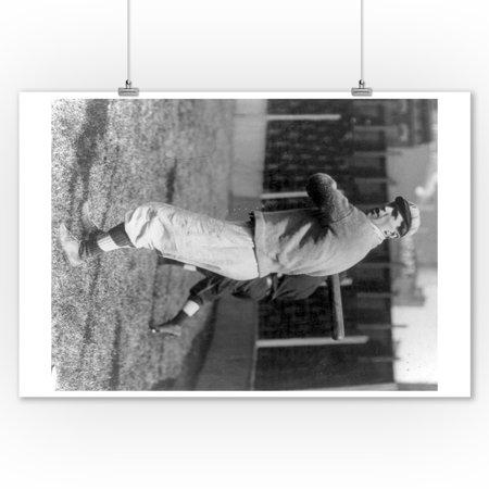 Delos Drake, St. Louis Terriers (Fed.), Baseball Photo (9x12 Art Print, Wall Decor Travel Poster)