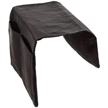 Leather Armchair Caddy- Black