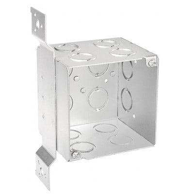 3 1 2 Inch Deep 4 Inch Square Junction Box 2 per case