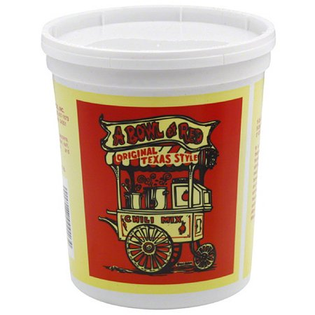 Image of A Bowl of Red Original Texas Style Chili Mix, 16 oz, (Pack of 6)