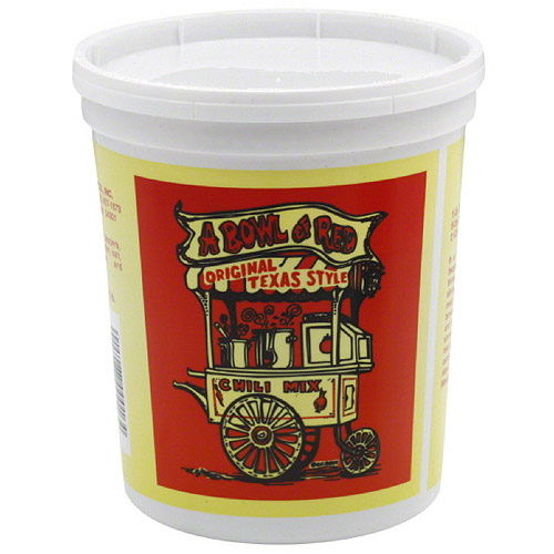 A Bowl of Red Original Texas Style Chili Mix, 16 oz, (Pack of 6)