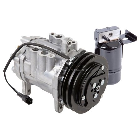 AC Compressor w/ A/C Drier For Dodge D150 Ram 50 W100 W150 W250 Ramcharger