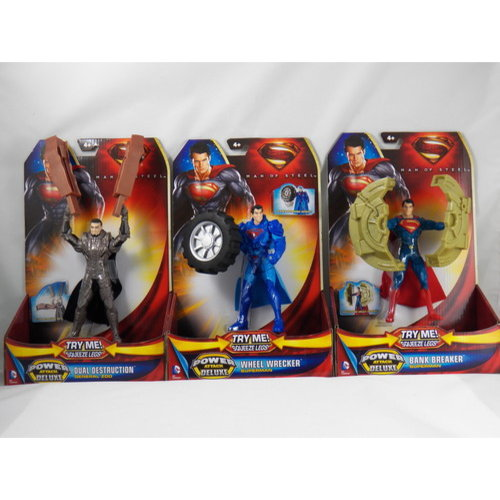 Superman: Man of Steel Power Attack Deluxe Action Figure