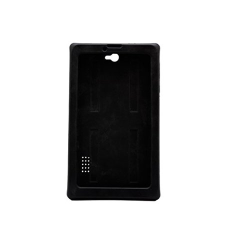 Sdeals Tab Silicone Case for Tab Phone & Tablet Modern Design, Ergonomic, High Device Compatibility - Black