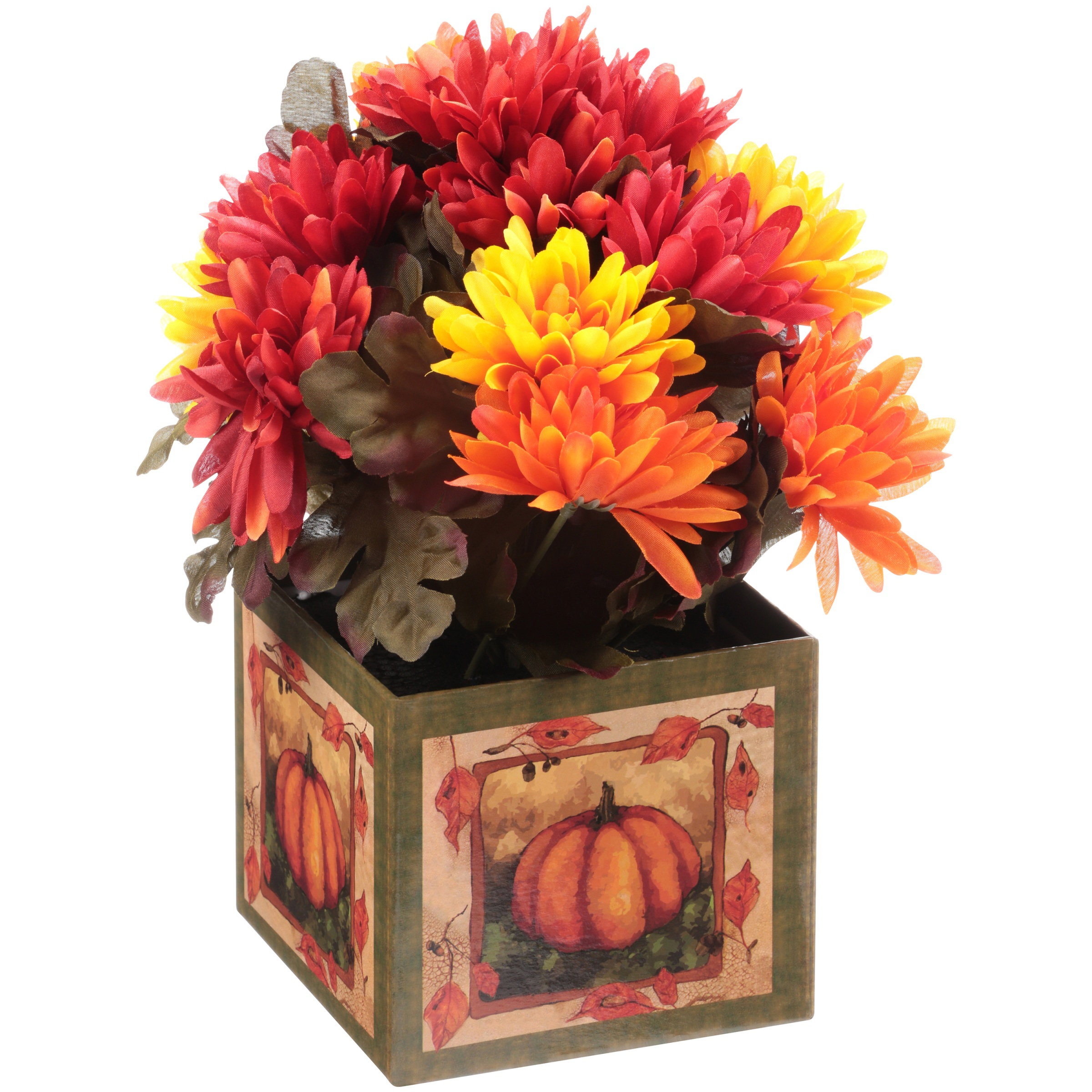 Orange Chrysanthemum Box