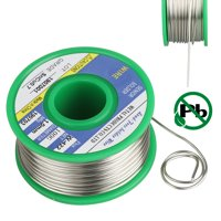 1.0mm/100g Lead Free Solder Wire, Rosin Core Solder Wire with Solder Sn99.3 Cu0.7, FLUX 2.2% for Electrical Soldering and DIY