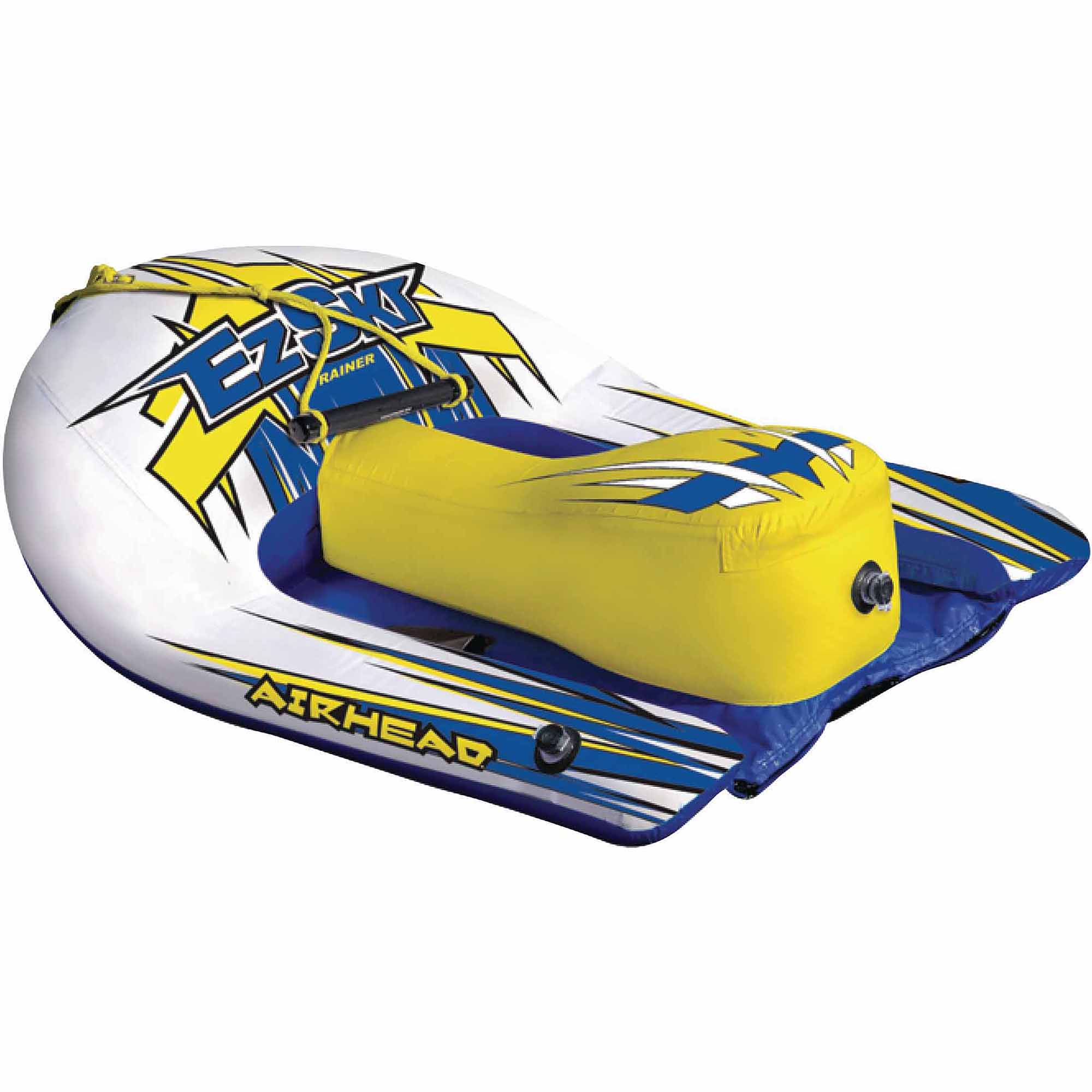 Airhead EZ Ski Inflatable Single Rider Towable Water Ski Hybrid by Kwik Tek