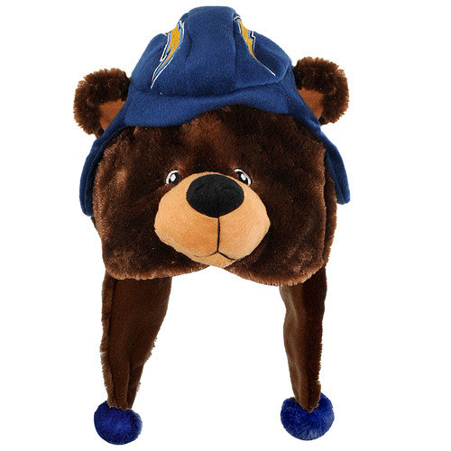 Forever Collectibles NFL Chicago Bears Mascot Themed Dangle Hats