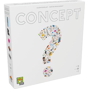 Concept Strategy Board Game by Asmodee North America