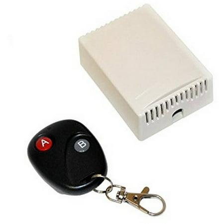 Aleko LM137 Universal Gate Garage Door Opener Remote Control with Transmitter