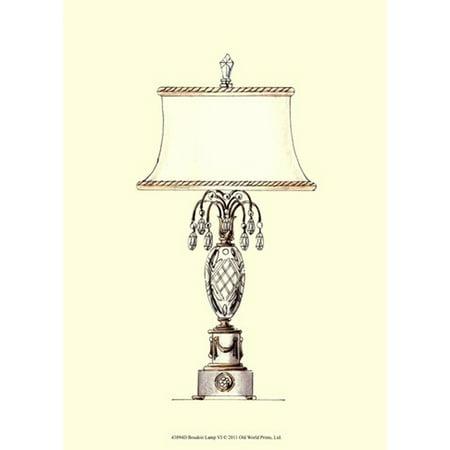 Boudoir Lamp VI Poster Print (10 x 13) - Halloween Boudoir