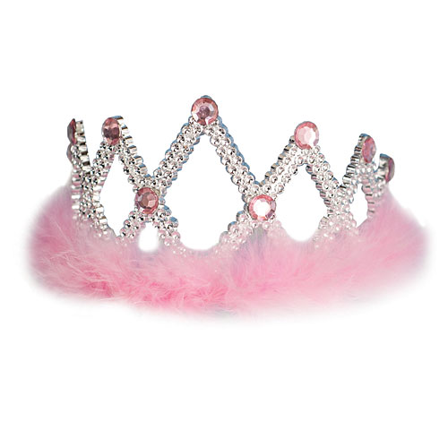 Package of 12 Pretty in Pink Tiaras