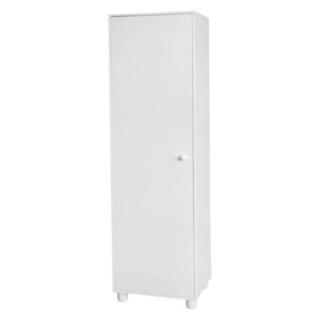 home source single door white pantry