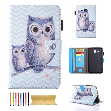 Galaxy Tab A 7 0 Case, Dteck Lightweight Stand Cover Wallet Case with  Card/Cash Slots for Samsung Galaxy Tab A 7 0 Inch Tablet 2016