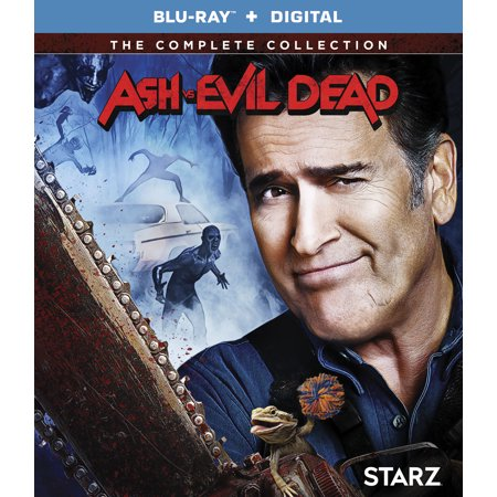 Ash Vs. Evil Dead: Season 1-3 (Blu-ray + Digital (The Rock Vs Brock Lesnar Vs John Cena)
