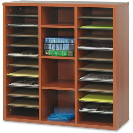 Safco, SAF9441CY, Apres Modular Storage Literature Organizer, 1 Each, Cherry