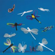 Color-Me Dragonfly and Butterfly, 36pk