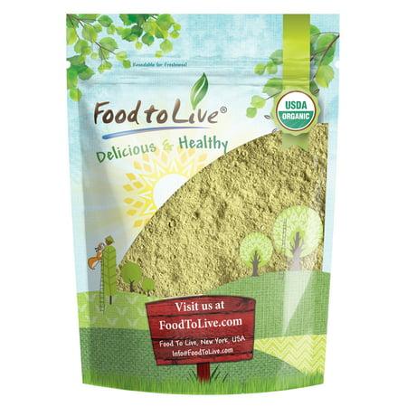 Organic Sprouted Oat Flour, 1 Pound — Non-GMO Whole Grain Powder, Kosher, Pure, Vegan Superfood, Bulk, Good Source of Iron, Product of the USA Kosher Organic Flour