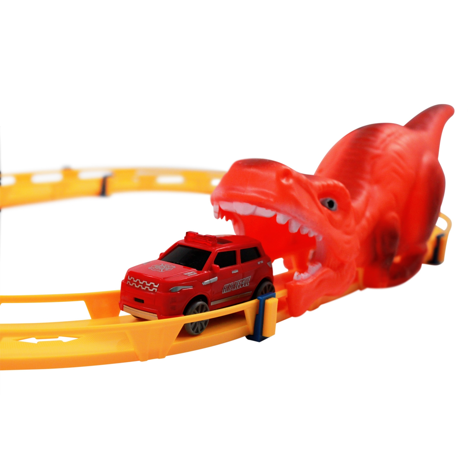 Great Dino Escape Kids Diecast Toy Starter Track