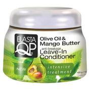 Elasta QP Olive & Mango Leave-In Conditioner 15 oz. (Pack of 2)