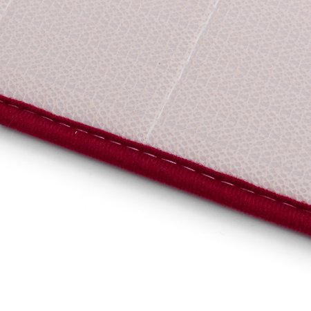 160x50CM Non-Slip Back Soft And Long Memory Foam Mat 100% Cashmere Coral Bathroom Bedroom Bath Mat Shower Door Mat Red  - image 4 de 8