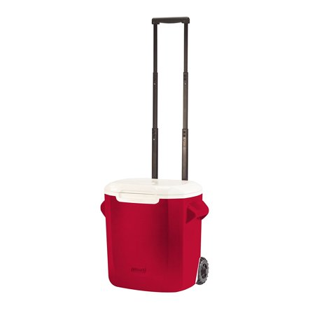 TT UP 16-Quart Personal Wheeled Cooler Red, Fast shipping ()