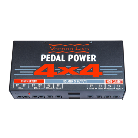 Voodoo Labs Pedal Power 4x4 Power Supply