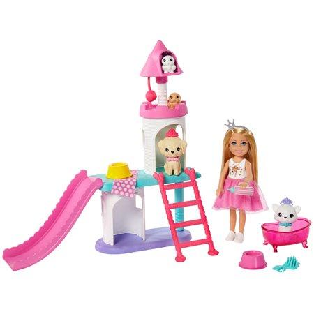 Barbie Princess Adventure Chelsea Pet Castle Playset
