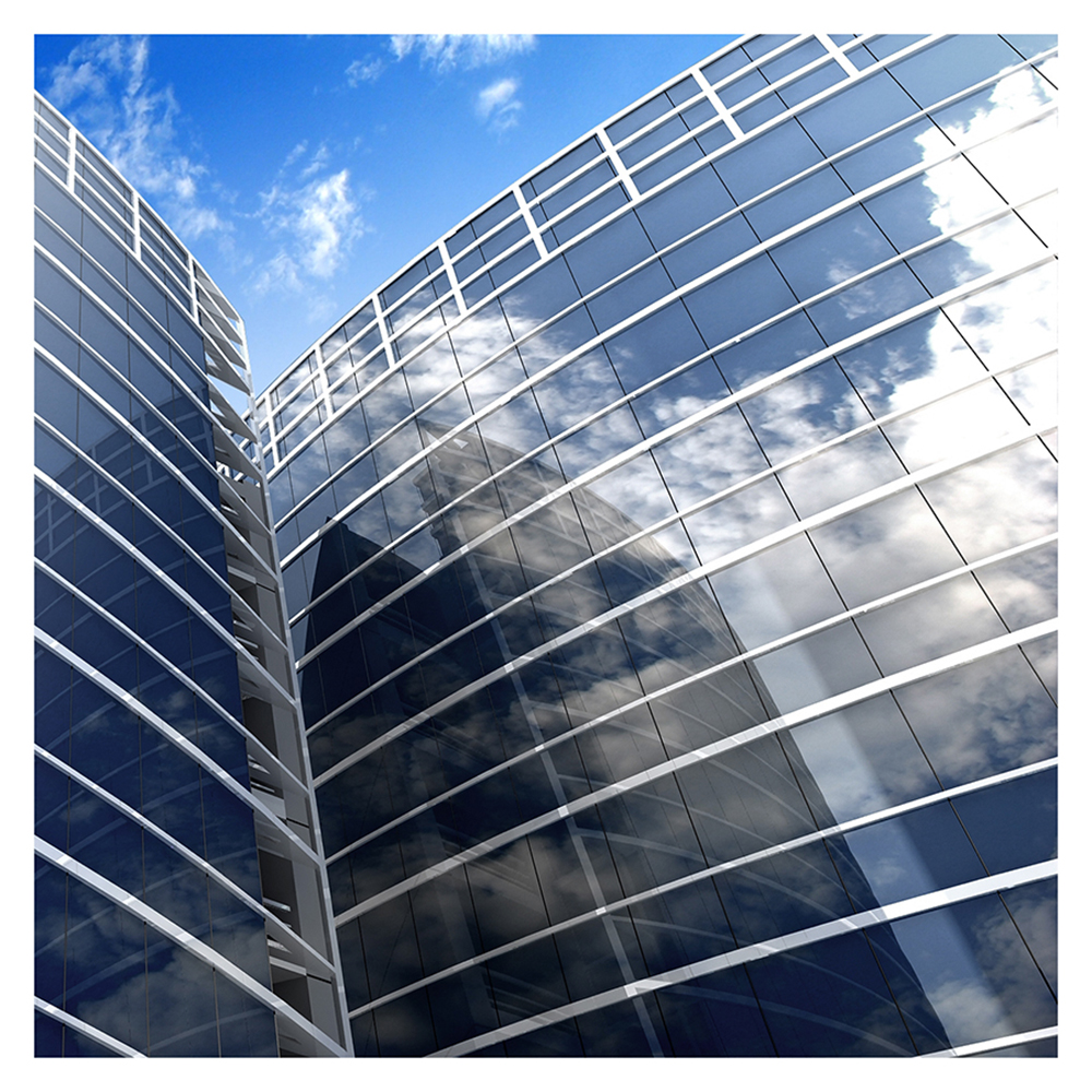 BDF S35 High Heat Rejection Reflective Silver 35 Window Film (Medium) 24in X 18ft by BuyDecorativeFilm