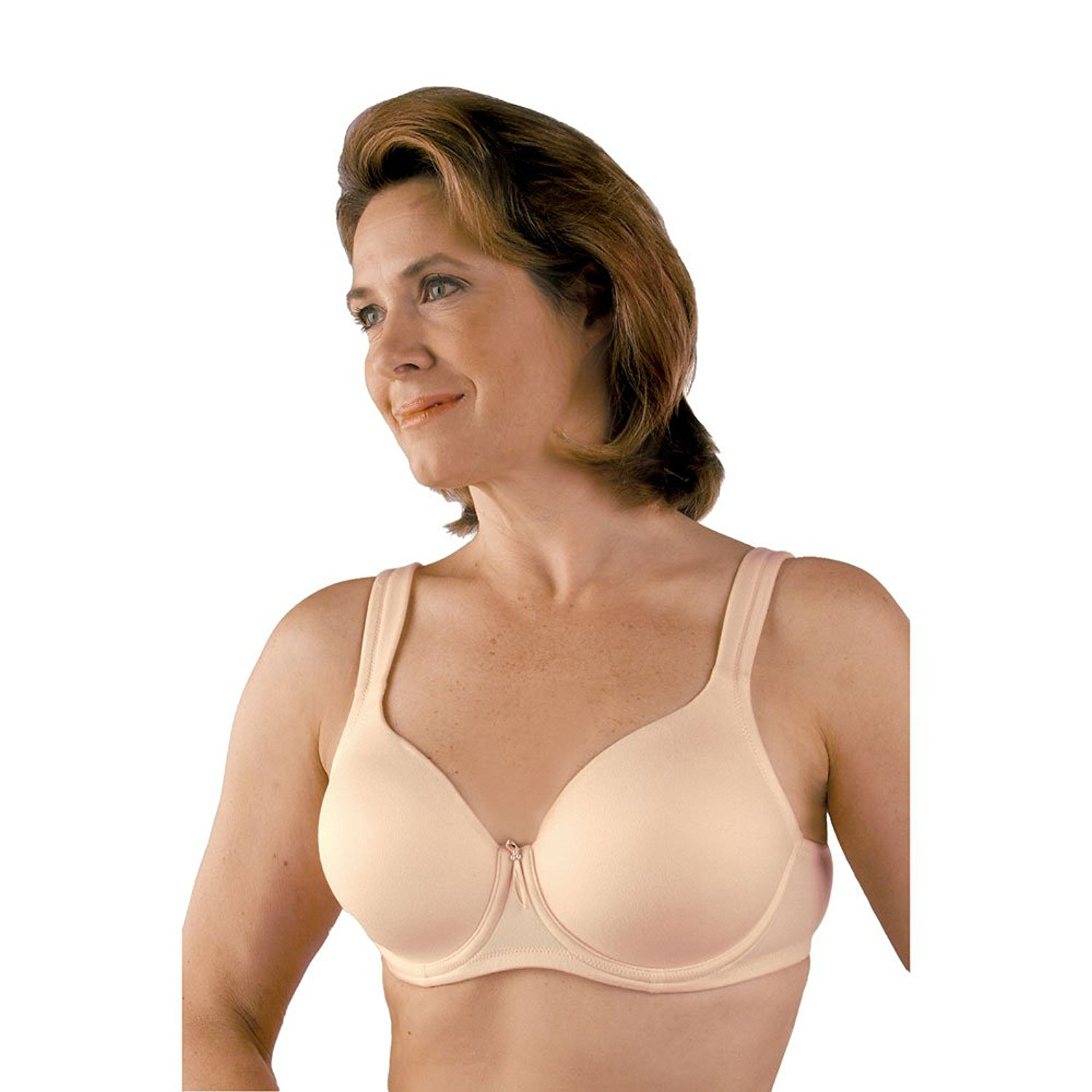 Classique Post Mastectomy Seamless Padded Strap Molded Un...