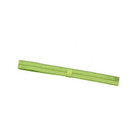 Girls Light Green Double Banded Narrow Stretch - Double Headed Girls