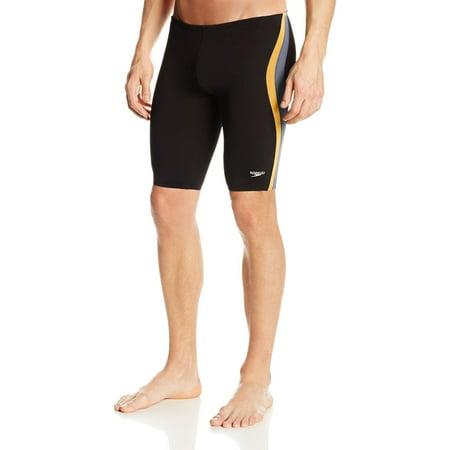 Speedo Men's Boy's Endurance Lite Quark Splice Swimsuit Jammer 8051366 (Boys Speedo Jammer)