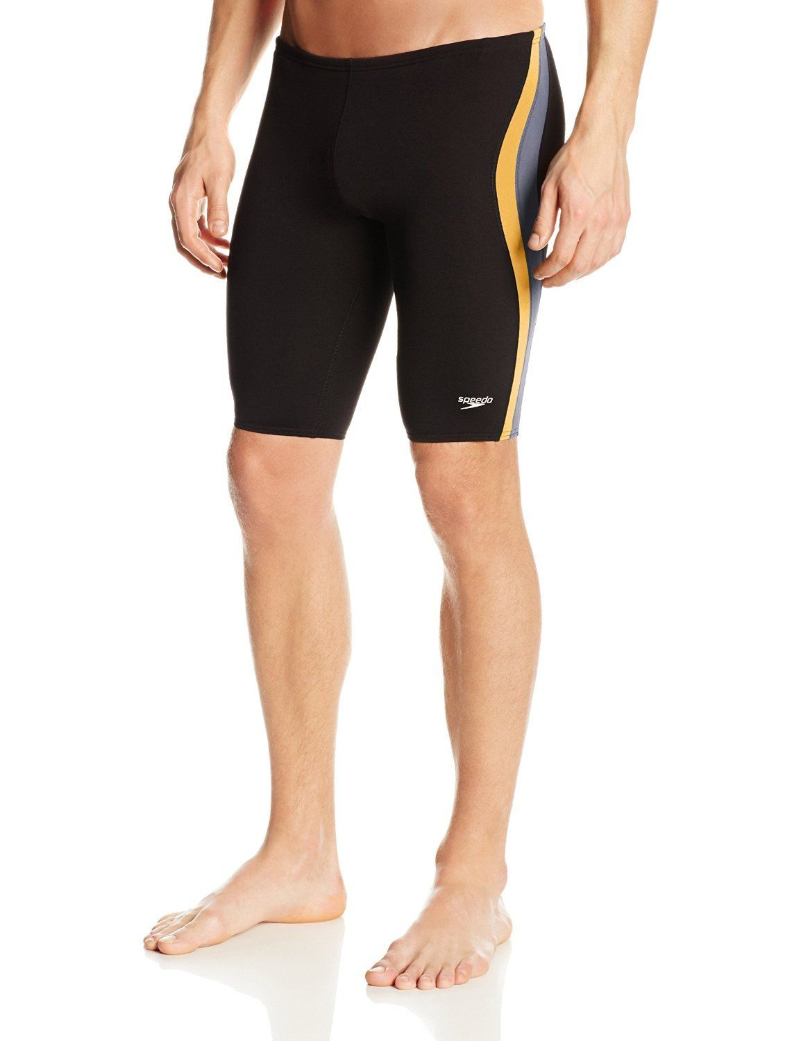Speedo Men's Boy's Endurance Lite Quark Splice Swimsuit Jammer 8051366
