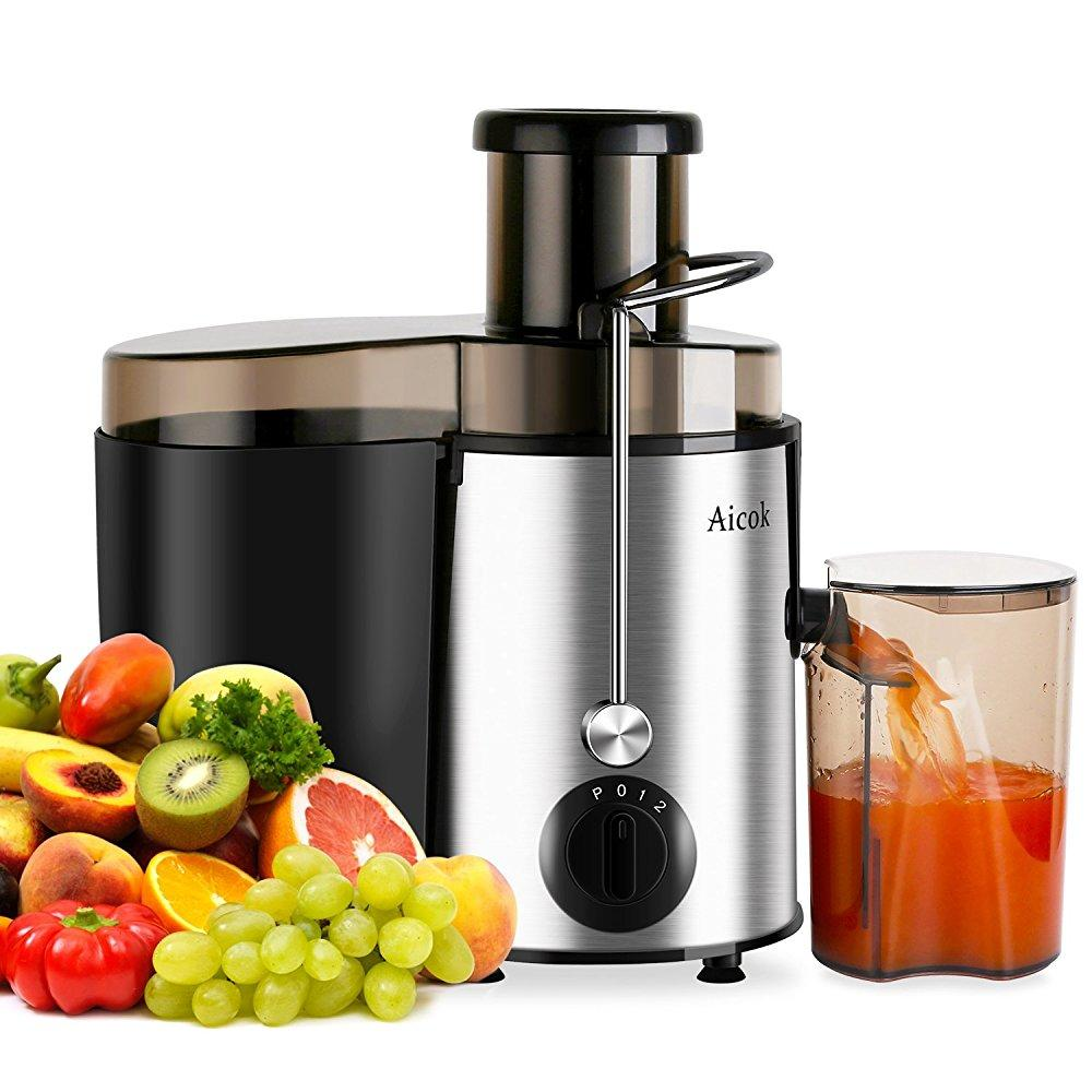 aicok juicer juice extractor high speed for fruit and vegetables dual speed