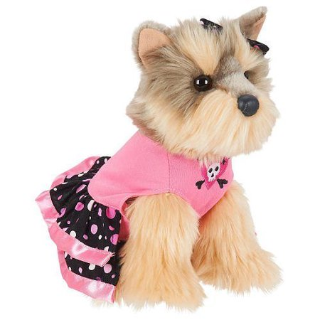 FAO Schwarz 9 Inch Yorkie Lap Dog Plush - image 1 de 1